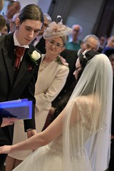Ceremony (kimnadineprowse) Tags: wedding love church canon groom bride ceremony marriage vows