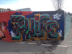 'PHIFE' by AROE (Brighton Rocks) Tags: graffiti brighton kings letter artillery msk ha mad seventh heavy society 7th aroe