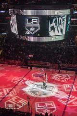 Los Angeles Kings (mark6mauno) Tags: hockey nhl losangeles los nikon angeles center mascot kings national bailey nikkor staples league scoreboard staplescenter 50mmf14d losangeleskings nationalhockeyleague d810 nikond810 201516 ar3x2