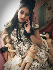 Doll's Room (gloomth) Tags: strange fashion dark toys dolls antique victorian creepy dolly livingdoll gloomth ashavari