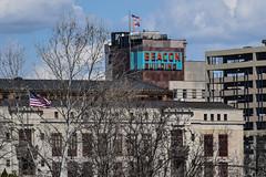 BEACON (tim.perdue) Tags: city columbus ohio urban building sign architecture hall flag beacon cowntown