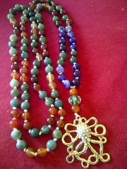 #4 (innerjewelz@rogers.com) Tags: handmade traditional jewelry jewellery meditation custom mala 108 mantra intention knotted japamala innerjewelz