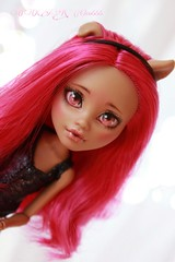 PicsArt_04-09-06.57.49 (Cleo6666) Tags: monster high wolf doll ooak custom mattel repaint howleen monsterhigh