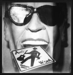Wauk & Roll ([jonrev]) Tags: white black max slr polaroid se illinois mask 600 week 20 generation waukegan 680 impossible headroom roid 2016 artwauk roidweek