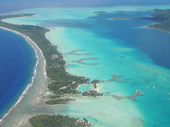 Bora Bora from the air (Craigs Travels) Tags: southpacific tahiti borabora frenchpolynesia societyislands