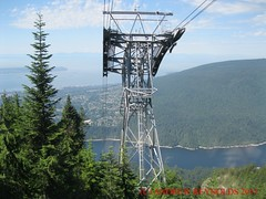 2015 0629 04 CABLE CAR GROUSEMOUNTAIN VANCOUVER (Andrew Reynolds transport view) Tags: canada car vancouver 04 cable gondola ropeway grousemountain 2015 0629 car america north columbia cable britsh
