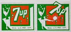 "1970 7Up UnCola ""Old Trademark Girls Kicking"" vintage billboard poster by Pat Dypold (btreat) Tags: vintage poster bottle bubbles retro billboard 1970 7up swimsuitgirls uncola theuncola vintagebillboard patdypold vintagebillboardposter oldtrademarkgirlskicking"