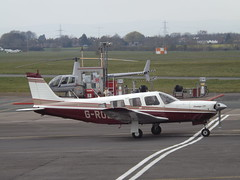 G-ROLF Piper Saratoga (Aircaft @ Gloucestershire Airport By James) Tags: james airport saratoga gloucestershire piper 32 lloyds egbj grolf