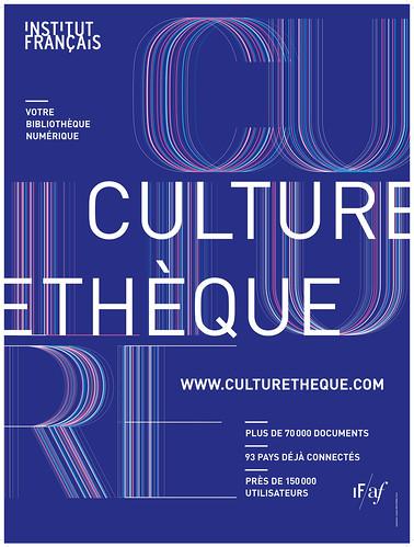 Photo diaporama - Affiche Culturetheque