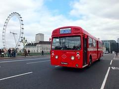 Red Arrow - MBA444 - VLW444G (Waterford_Man) Tags: merlin londontransport redarrow bbpg bromleybuspreservationgroup mba444 vlw444g