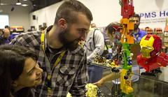 At Vintage Toys 2016 (ZetoVince) Tags: lego vince exhibition lug zeto gricks