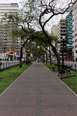 Deptak w Miraflores | Walkway in Miraflores