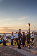 IMG_1158_adj (md93) Tags: birthday sunset castle hill 90th queens archery archers beacon ardrossan lordprovost lordlieutenant northayrshirecouncil