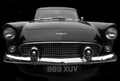 Ford Thunderbird (DaveWilliams) Tags: street bw black classic car mono cross kings chrome 1950s vehicle stable bootsale 889 xuv 889xuv