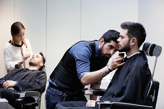_T8A6317bd (labarbiredeparis) Tags: paris france art face sarah hair beard goatee moustache barbershop beaut barber salon innovation coiffeur barbe soin 1er extensions barbu coiffure capelli excellence masculin cheveux rasoir rasage 9e taille rase barbier shampooing condorcet coupechou barbiere coiffe bouc ras esthtique bertin pilation facehair poire barbire labarbiredeparis danielhamizi