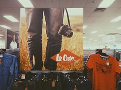 Lee Cooper (Markus Jaaske) Tags: camera shop advertising photography photo ad australia bluemountains clothes jeans selling katoomba bigw