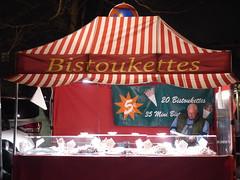 Bistoukettes (seikinsou) Tags: light brussels evening stand spring place belgium belgique market sausage bruxelles salami chasseur ardennais bistoukette
