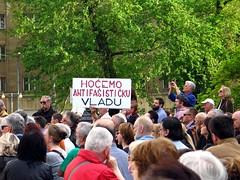 Jasenovac na Trgu rtava faizma (roksoslav) Tags: canon croatia zagreb g6 commemoration 2016 jasenovac komemoracija