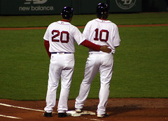 Love for Hanigan (ConfessionalPoet) Tags: love coach baseball c redsox catcher firstbase baserunner ryanhanigan