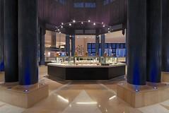 RSH Djerba (Primatours) Tags: restaurant hotel design djerba resort buffet interiordesign tunesien sulen radissonsas uplight sule symmetrie 4sterne rezidor marmorboden