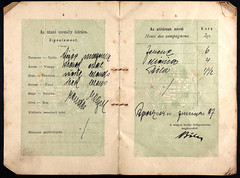 33162_620303988_0182-00347 (mkvirg) Tags: 1920s hungary passport 1910s immigration ellisisland magyarorszg emigration hungarians magyartlevl