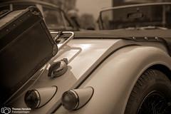 Morgan Oldtimer beim Season Opening im Lenkwerk (thendele) Tags: auto cars car autoshow oldtimer autos bielefeld youngtimer seasonopening lenkwerk