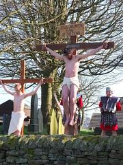 Stannington Live Crucifixion (richarddubreq) Tags: easter sheffield crucifixion stannington mysteryplay christchurchstannington
