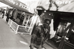 AA001 (heavyasmountains) Tags: nyc newyorkcity blackandwhite slr film 35mm photography nikon candid streetphotography noflash 24mm fm3a filmphotography streetstyle
