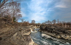 Hog's Back Falls (S A F I R E) Tags: bridge trees sky canada water clouds landscape nikon rocks waves angle ottawa wide scenic rocky waterfalls nd hogsback ndfilter widelens safire nikon810 safirephoto