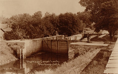 Canal, Old Portage Lock