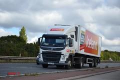 Volvo FM4 'Iceland' (DHL) reg PO64 URM (erfmike51) Tags: iceland lorry artic dhl euro6 volvofm4