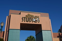 Arriving at Hollywood Studios