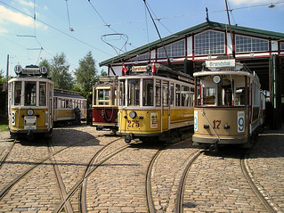 Trams on Parade