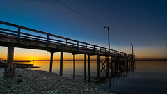 Final Sunset of 2015 (RussellK2013) Tags: ocean sunset canada beach nature water pier lowlight nikon britishcolumbia wideangle surrey tokina crescentbeach uwa d7100 1116mmf28