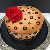 "Cheeta cake sugar flowers • <a style=""font-size:0.8em;"" href=""http://www.flickr.com/photos/40146061@N06/24046915923/"" target=""_blank"">View on Flickr</a>"