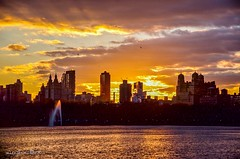 Today's sunset 03-Jan-2016 shot taken at Jacqueline Kennedy Onassis Reservoir, Central Park New York City (mitzgami) Tags: nyc newyorkcity sunset newyork nature landscape flickr centralpark manhattan reservoir jacquelinekennedyonassisreservoir nikonphotography
