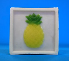 Pineapple $3.00 (Clelian Heights) Tags: fruit soaps unscented decorativesoaps cleliansoaps