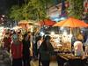 Sunday market in เชียงใหม่ (kawabek) Tags: thailand market stall chiangmai 傘 市場 タイ パラソル เชียงใหม่ ประเทศไทย チェンマイ 露店 ร่ม parsol ตลาด แผง