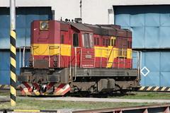 742 326 2 @ Zvolen Depot - Slovakia (uksean13) Tags: canon 4 transport engine rail railway depot slovakia locomotive zvolen ef28135mmf3556isusm zssk 7423262