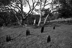 Graveyard Shift I _ bw (Joe Josephs: 2,600,180 views - thank you) Tags: california blackandwhite landscape death graveyards cemetary cemetaries fields tombstones eternity fineartphotography blackandwhitephotography travelphotography californialandscape landscapephotography outdoorphotography fineartprints joejosephsphotography