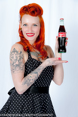 This would make a great ad for Coca Cola (Alaskan Dude) Tags: fashion portraits model women photoshoot modeling models danielle pinup photoshoots