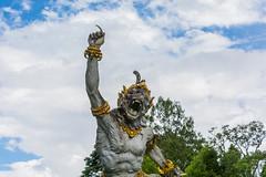 _71K4667.jpg (Pete Finlay) Tags: bali statue bedugul hindustatue balibotanicgarden
