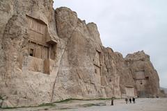 Naqsh-e Rostam - tombs of Artaxerxes, Darius and Xerxes (plutogno) Tags: iran persia archeology persian empire tomb darius artaxerxes xerxes
