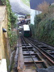 cliff-railway_IMG_3041 (Roger Brown (General)) Tags: park two england cliff west castle cars feet water rooms village martin dinosaur tea wildlife cottage railway east using gravity devon edge rivers works gorge below connected northern 700 lyn lynmouth tanks confluence attractions dunster visited watersmeet exmoor combe lynton cableconnected