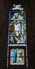 St Luke Widow (Aidan McRae Thomson) Tags: church window stainedglass cumbria priory preraphaelite lanercost burnejones morrisco
