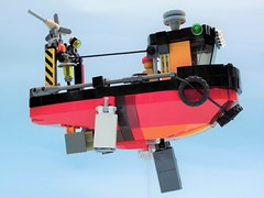 Aldo 02 (JPascal) Tags: boat flying lego
