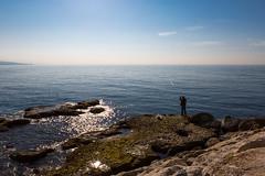 Byblos (Sergio Formoso) Tags: lebanon water coast fisherman shore mediterraneansea pescador liban byblos  marmediterrneo lbano biblos  jbail jebeil