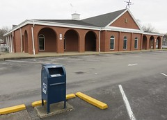 Post Office 42164 (Scottsville, Kentucky) (courthouselover) Tags: kentucky ky postoffices scottsville allencounty