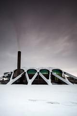 Starship Dollan (Stuart Stevenson) Tags: uk winter snow architecture swimming swim photography scotland swimmingpool olympic 50m eastkilbride clydevalley dollan dollanbaths dollanaquacentre stuartstevenson