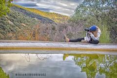 judit (josemiirodriguez) Tags: españa verde textura rio azul 35mm relax atardecer paisaje colores andalucia granada reflejo f56 sombras trevelez judit